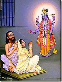 Krishna's birth