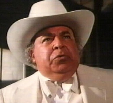 out there like Boss Hogg.
