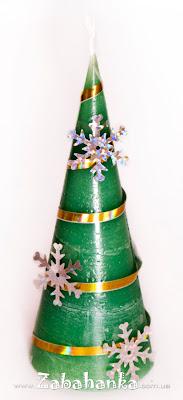 Свічка - Новорічна ялинка