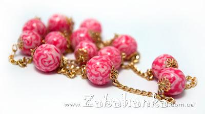 Намисто - Хризантеми
