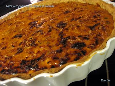 Tarte aux poivrons et thon à la tomate IMG_1119