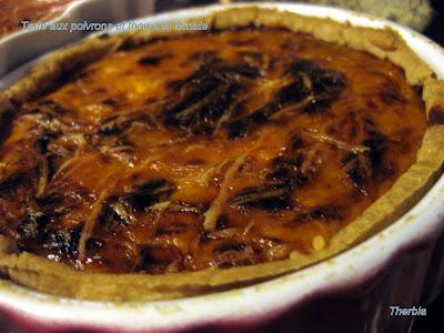 Tarte aux poivrons et thon à la tomate IMG_1120