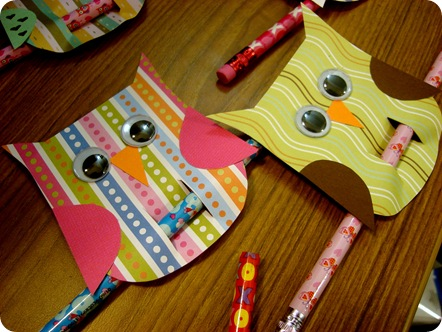 special valentine gifts: owl be your valentine, kids craft ideas