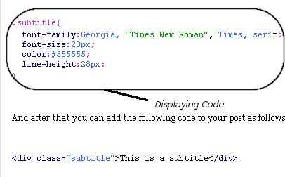 Display codes on your Blog postings by the help of Scribefire
