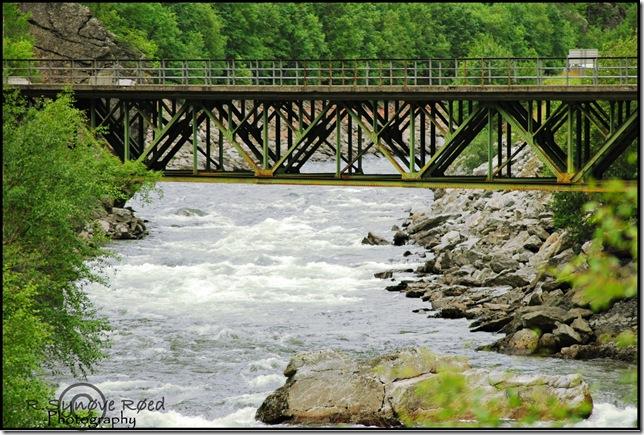 bro på vei til rondane