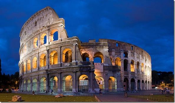 maravillas del mundo coliseo romano
