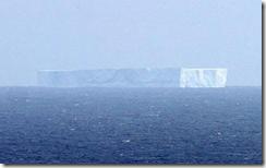 iceberg australia video antartida