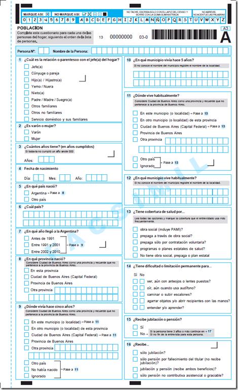planilla censo 2010