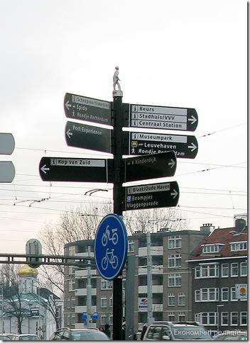 Інформаційні вказівники - Роттердам