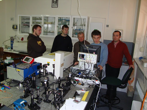 ZScan Measurments (Janusz, Chris, Dr Antoni, Chris, Marcin)
