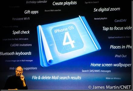 Apple iPhone OS 4.001
