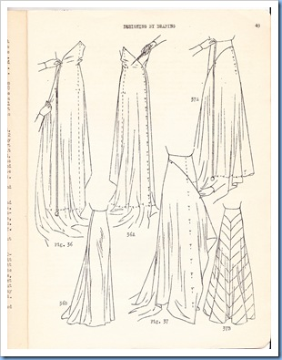 Designing by Draping - 1936 8