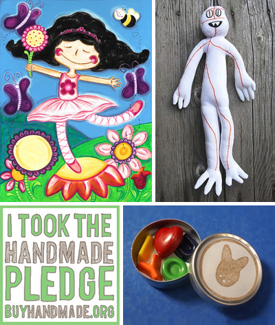 Handmade Cfaftivism: 3 Ways to More Precious and Less Ultra-Slick Stuff for Kids