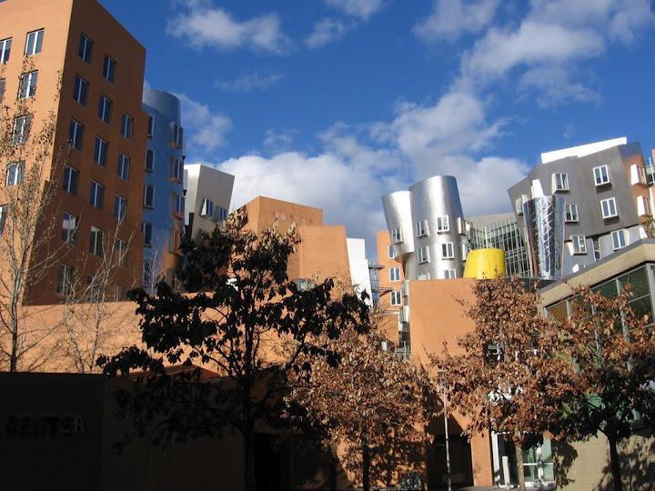 Bâtiments à laspect étrange au MIT