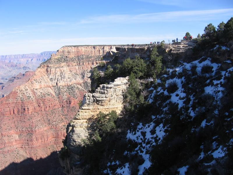 Neige dans le canyon