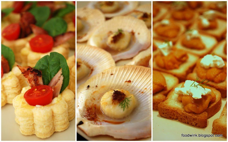 Foodwink easy peasy canap s for Easy canapes