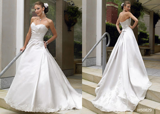 HS0829 Informal Bridal Gown / Wedding Dress
