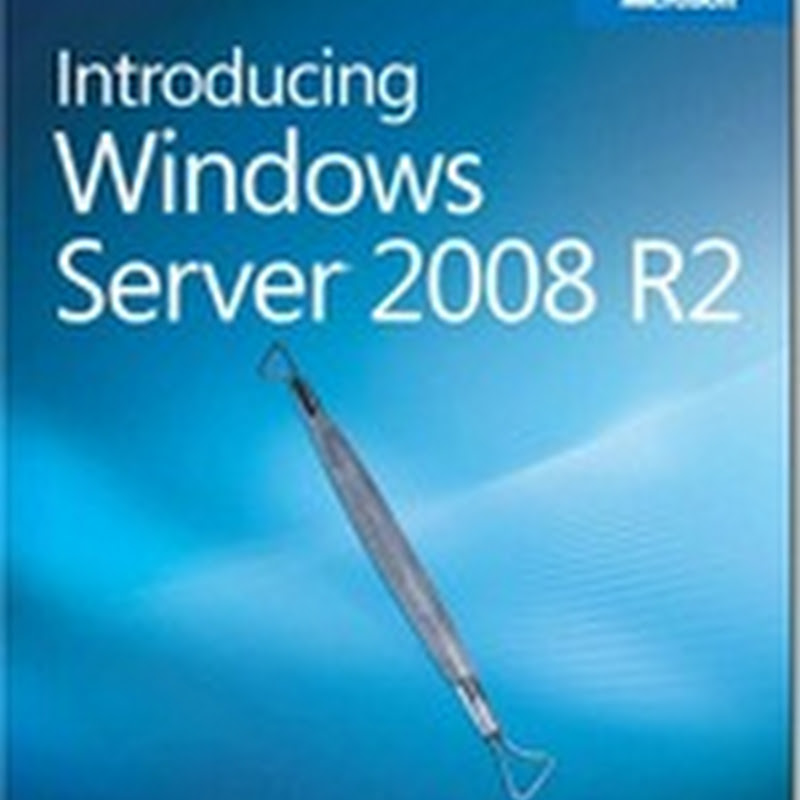 Free Windows 7 and Windows Server 2008 R2 ebooks from Microsoft