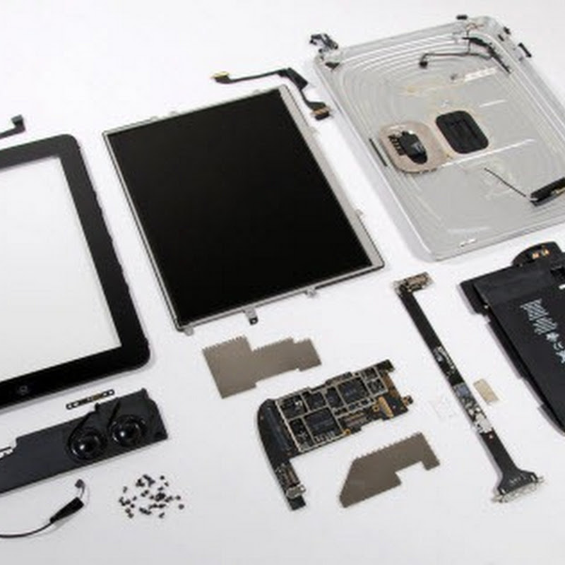 What's inside the iPad?
