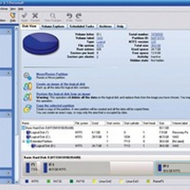 Free license of Paragon Hard Disk Manager 8.5
