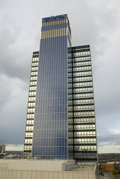 CIS Solar Tower - The solar panel covered skyscraper