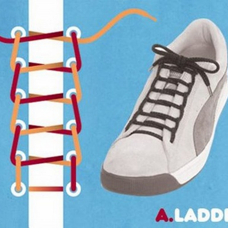 15 different ways to tie the shoe knot