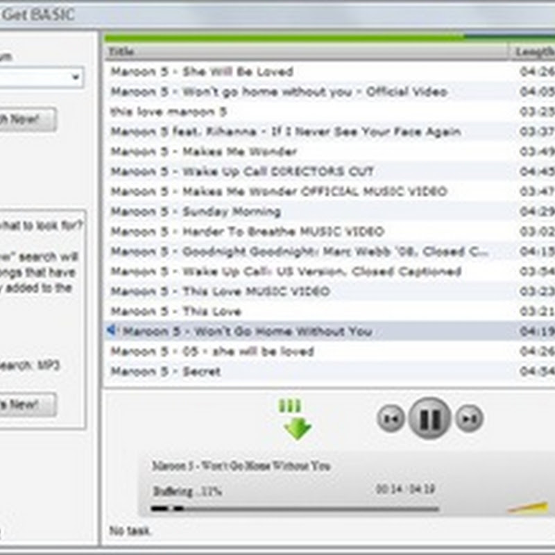 Music MP3 Get – Download music from social websites