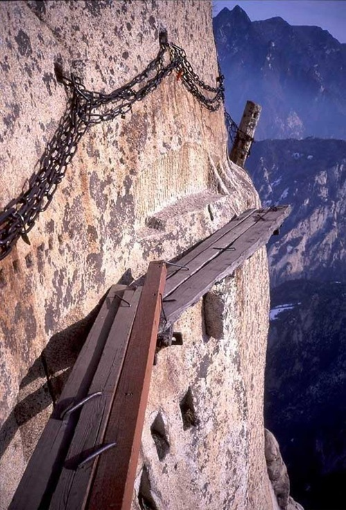 huashan mountain road