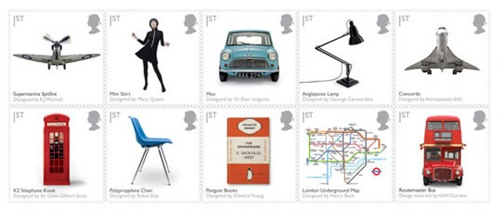 Classic British designs on Royal Mail's stamps