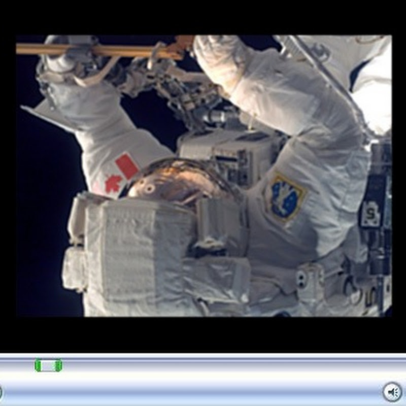 Live streaming video from the International Space Station