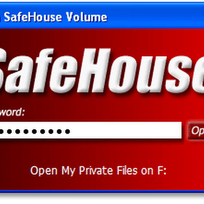 SafeHouse Explorer hides your files in internal and external drives, optical discs and iPods