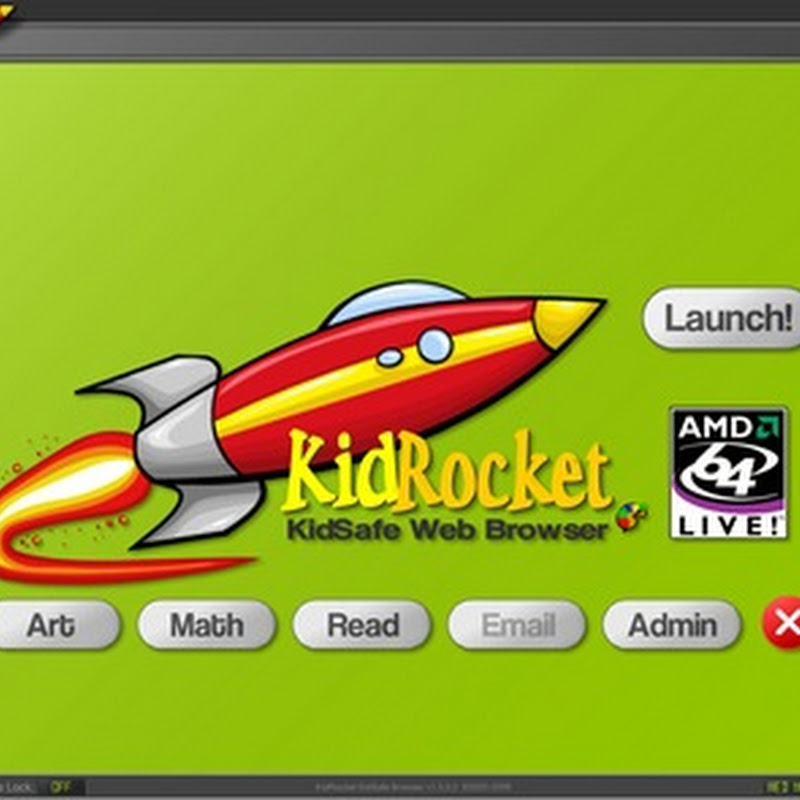 KidRocket - Web browser and desktop protection for kids
