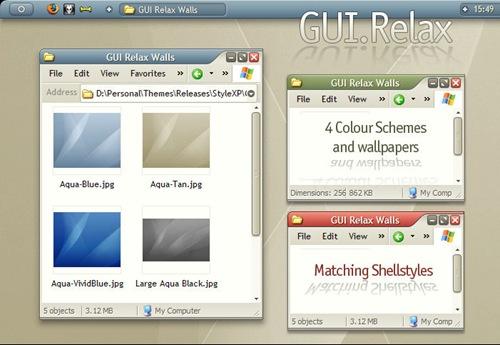 GUI_Relax_by_b0se