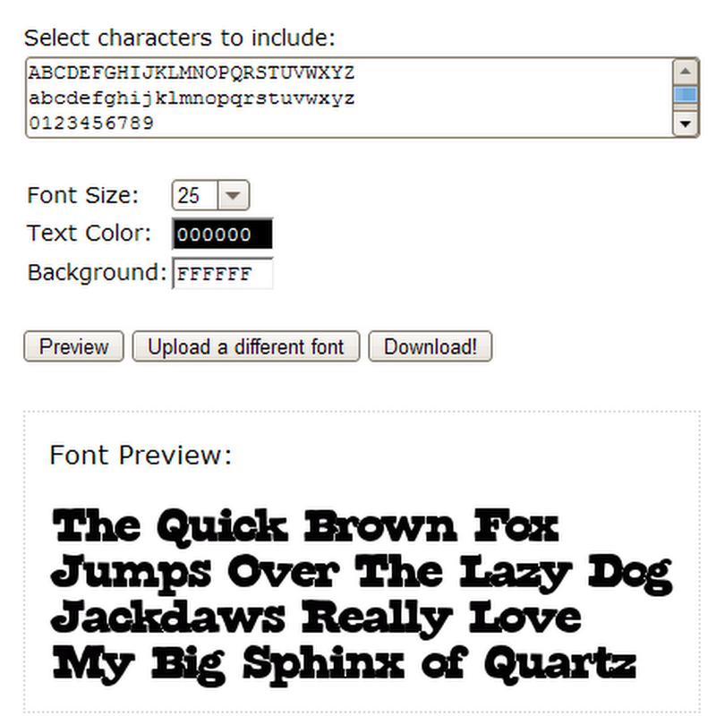 FontJazz embeds non-standard fonts on web pages