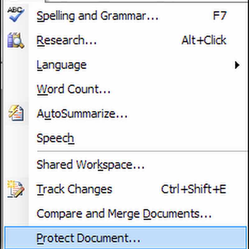 How to make Word documents read only, selectively editable or password protected