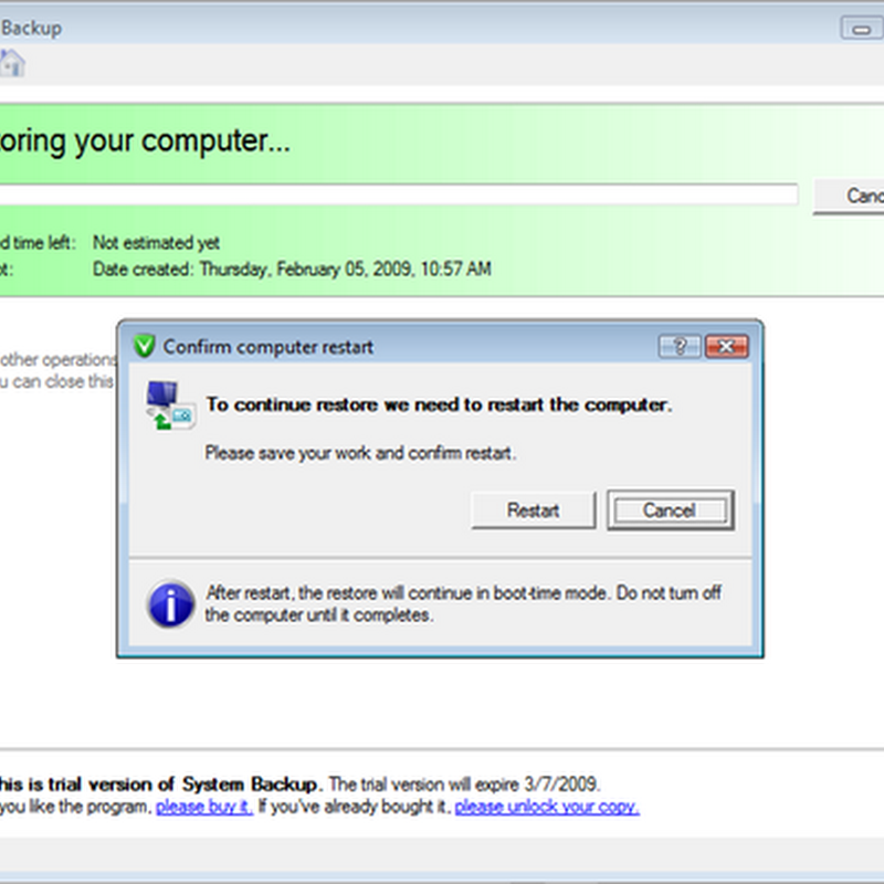 Free download of Paragon System Backup 2010 RC