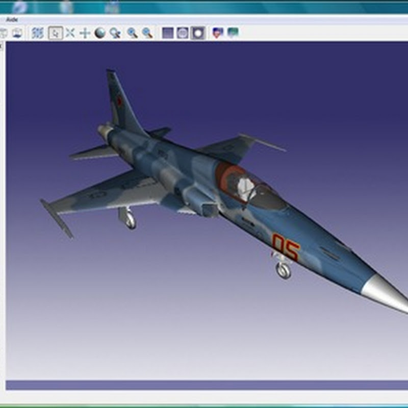GLC_Player: Lightweight 3D model viewer and manager