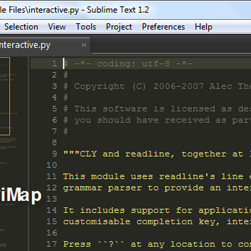 Sublime Text - text editor for Windows