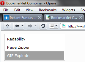 bookmarklet-combiner-menu