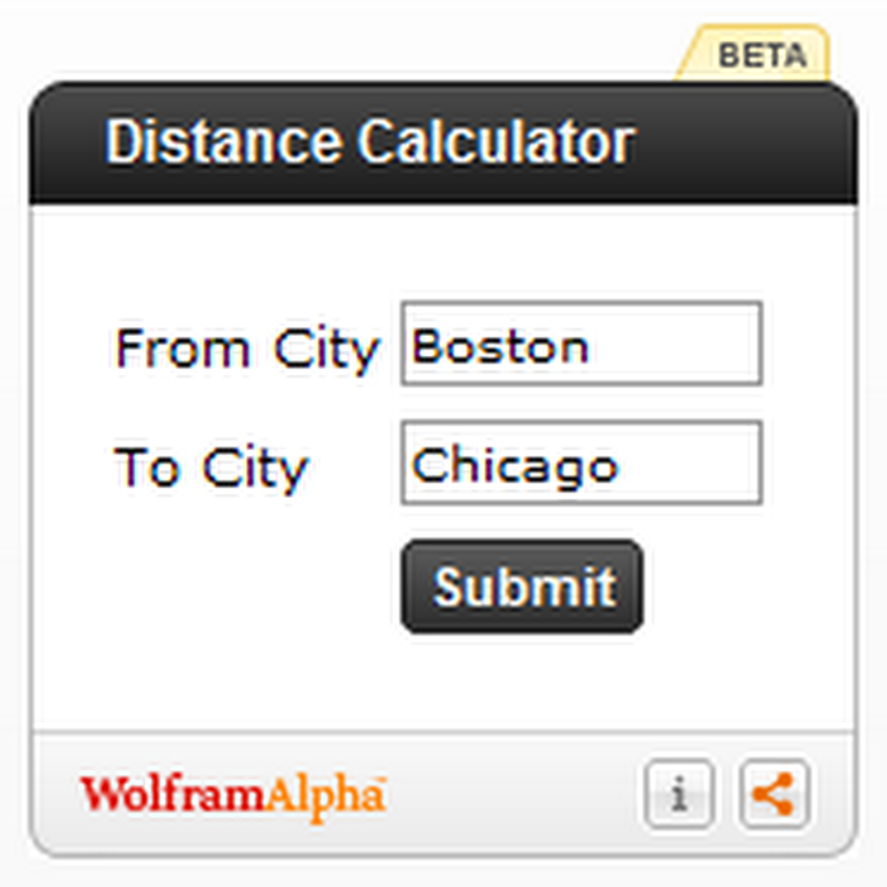 Wolfram Alpha launches embeddable widgets