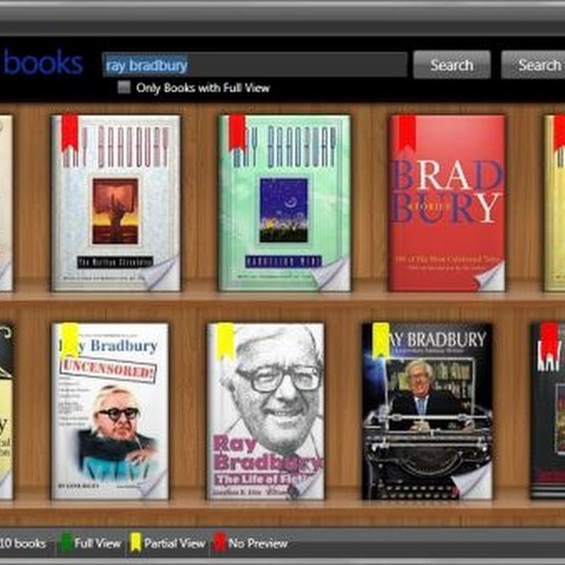 Search and read Google Books from the desktop with GooReader