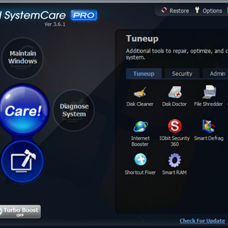 Free again: IObit Advanced SystemCare Pro