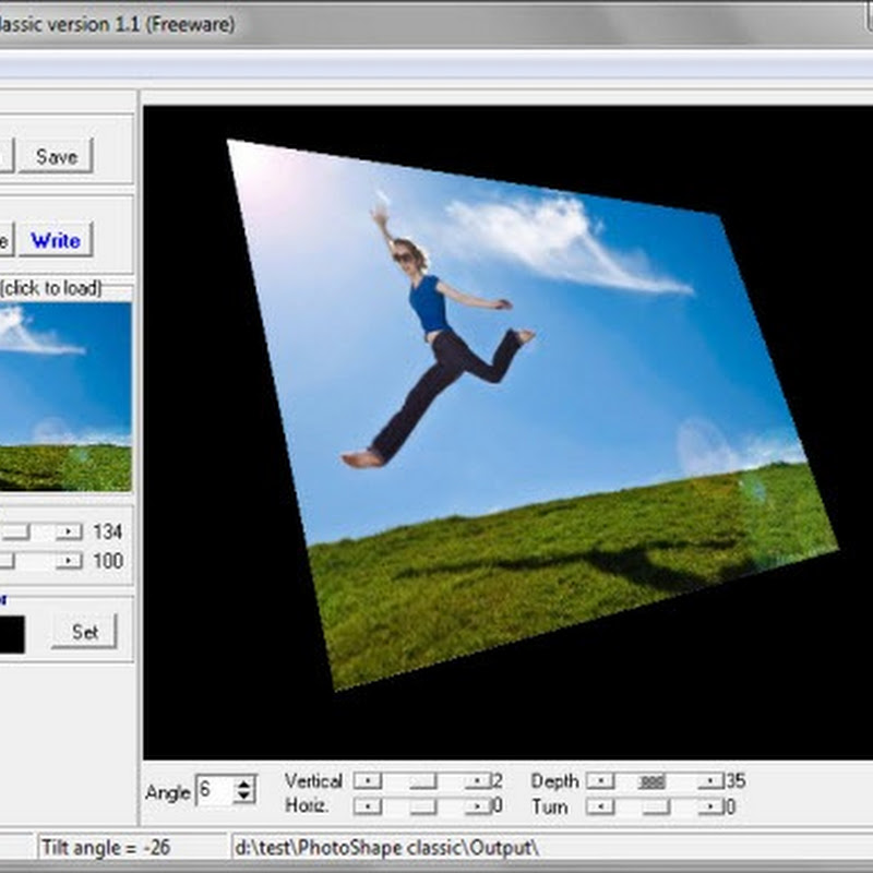 Give your photos a perspective with PhotoShape