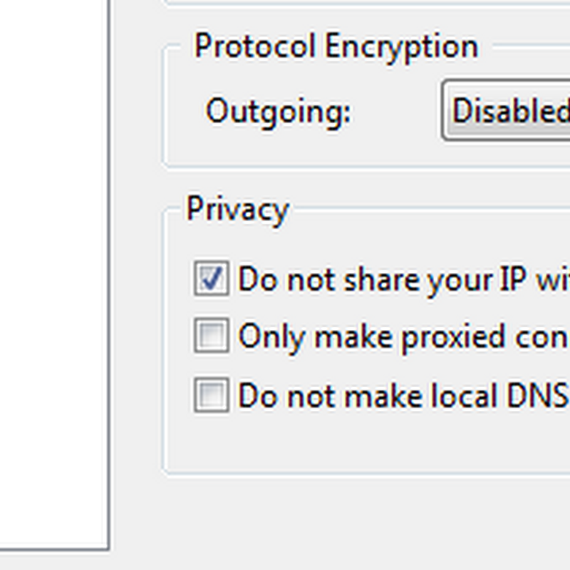 uTorrent 3's privacy settings doesn't keep you private