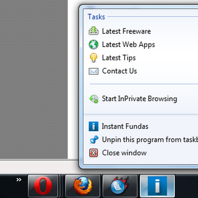 How to customize your website's JumpList for IE9 site pinning