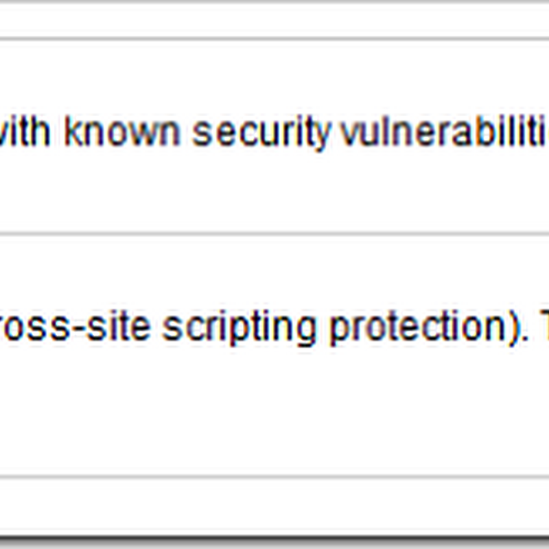 Two new security features for Chrome: XSS protection and disable outdated plugins