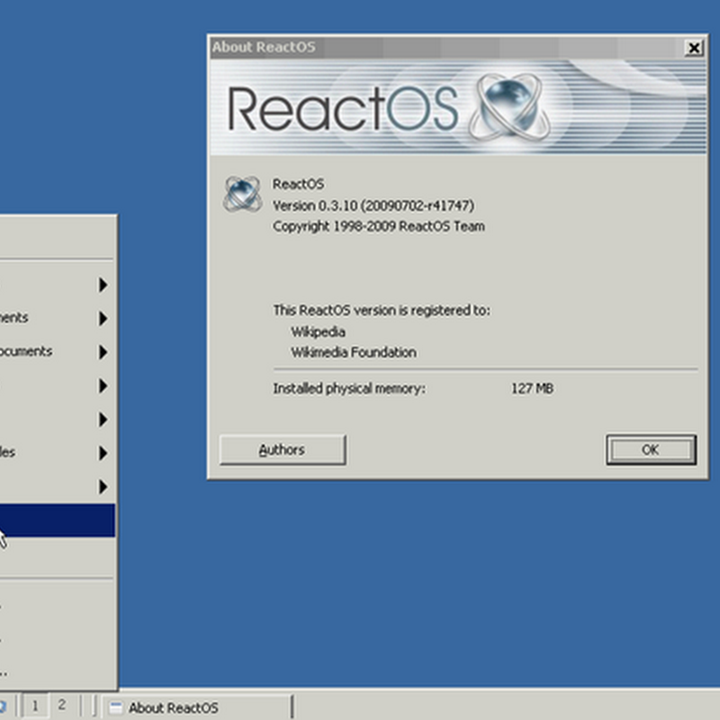 ReactOS version 0.3.12 released