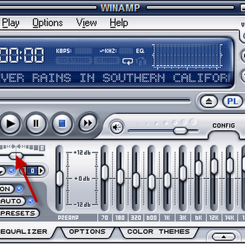 How to increase volume in one channel of stereo MP3 files