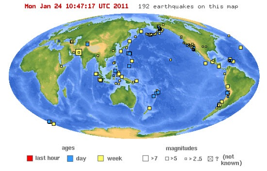 earthquake-map