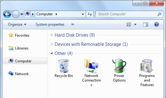 how to delete several programs from startup taskbar windows vista